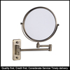 Arm 3X Magnification Magnifying Mirror Wall Mounted Vanity Mirrors