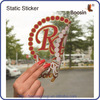 Glass Decoration Sticker,Removable Custom Silicone Sticker