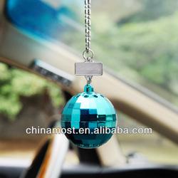 CarSetCity Fashionable Luxury DiscoBall Car Perfume Ocean Green 5g