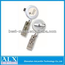 Top quality logo rotating badge reel