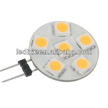 Side Pin T3 G4 Base Bi Pin JC LED Halogen Xenon Replacement Bulb 12V AC/DC or 24V DC, Desk Lamps, Pendant Lights