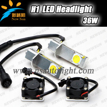 Popular Unique car accessories 3200LM 2pcs * 18w high power h1 led cob auto light car head lamp