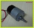 de corriente continua micro motor del limpiaparabrisas de engranajes