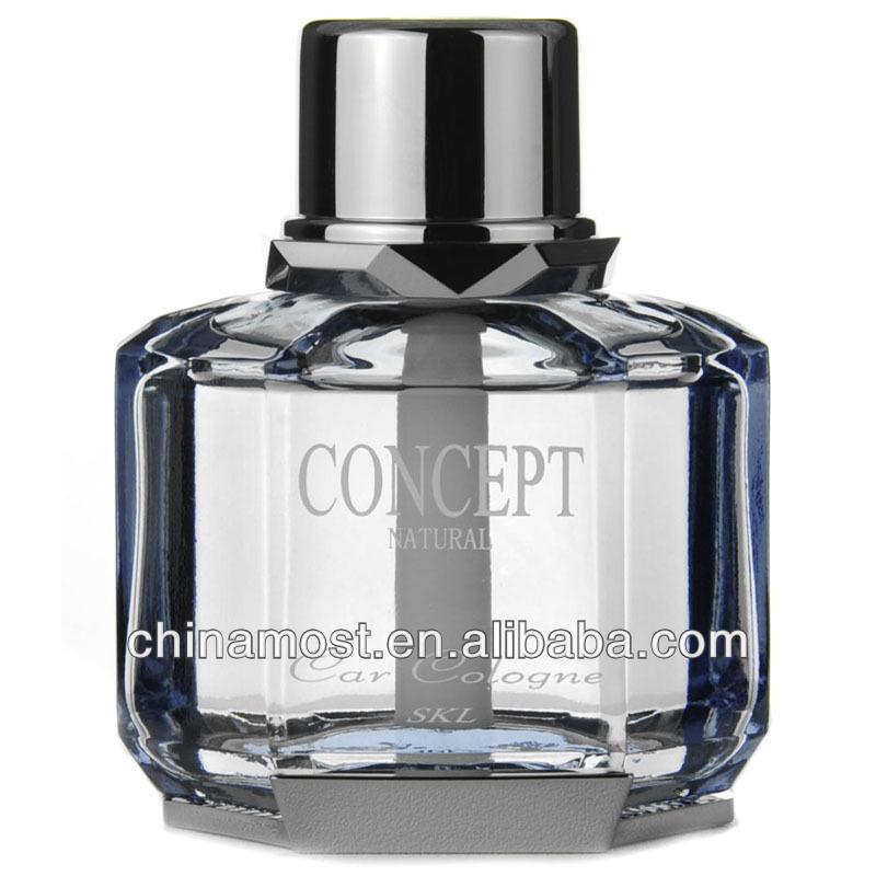 CarSetCity Concept Natural Perfume Cologne Grey Car Freshener
