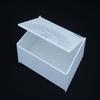 wholesale white acrylic plastic large compartment storage box