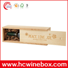 Fashion High Quality Natural wood wine box