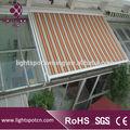 Telhado e toldo, residencial toldo de alumínio, telhado de metal toldo,