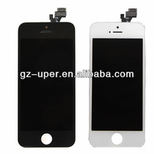 for iphone 5s lcd with digitizer full original with frame black and white color