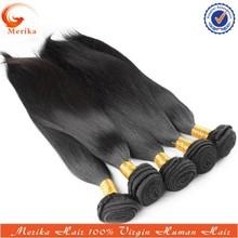 Wholesale 5a grade unprocessed virgin human hair,32 inch hair extension,silky long hair