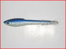 plastic promotional fish shaped pen