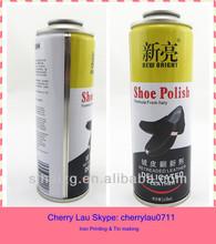 shoe polish tin can