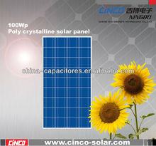 2014 Newest solar Product,Hot Sale,High Efficiency 100w polycrystalline solar panel