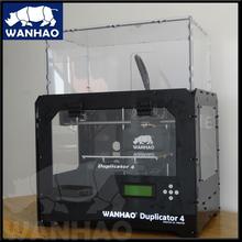 New Coming!!! wanhao 3d printerDual Nozzles DIY desktop 3D Printer / Dual Extruder FDM 3D Printer Bulid size 225*145*150 mm