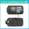 mini gps tracker bag, GPS LEATHER CASE