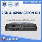 16 pon port Gepon OLT, Fiber Optical Equipment, Epon OLT