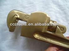 Herramientas de mano, herramientas que no produzcan chispas, no magnético, cadena llave de tubo