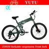 """scooter electric/adult 2 wheel electric bike /26"""" green e-bike"""