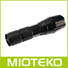 CREE T6 Rechargeable heavy duty led torch light for outdoors activities