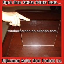 1.0mm-1.8mm clear sheet glass / clear glaverbel glass