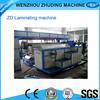 Hot selling ZHUDING full automatic pp laminating machines