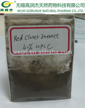 red clover extract 2.5%-8% isoflavone powder red clover p.e. ON SELL