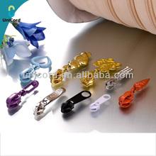Fashion Design Metal Gold Alloy Zipper Sliders