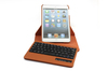 New High Quality 6 Colors Wireless Bluetooth 3.0 Stand Leather Keyboard Case for iPad mini Keyboard Cover Case