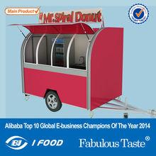 Rodas grandes janelas de correr de venda automática bicicleta / food vans / caminhão de alimentos
