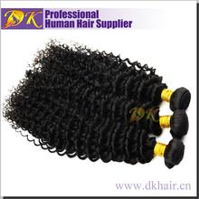 Unprocessed 100% Raw human remy virgin wavy hair weave russian
