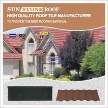 German discount ancient porcelain metal corrugated roof tile