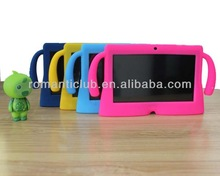 Non toxic silicon beauty case kids 7 inch tablet case