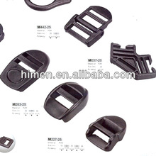 black plastic adjustable buckle for bag/luggage/backpack accessories 53-1