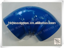 90 DEGREE ALUMINUM ELBOW COVER/BLUE ELBOW/metal pipe fitting