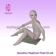 Kid sex doll sitting mannequin