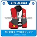 Chaleco salvavidas 2015 fluorescente chalecos salvavidas, tela para las chaquetas de la vida