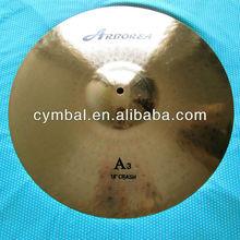 pearl polishing cymbal,100%Handmade A3 18'' CRASH Cymbals