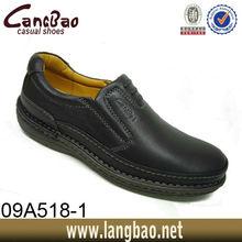 Classics Style Pu Lining Elastic Men Shoes