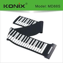 Learn Piano Keyboard 88 Keys Midi Rll Up Electronic Piano