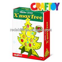 Arts & Crafts kit do it yourself X' mas Tree