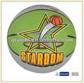 Tamanho oficial 7& peso borracha bolas de basquete