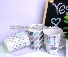 12oz Write on coffee mugs ceramic