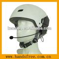 casco de moto auriculares titular de trabajo con la mitad de la cara del casco