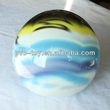 TPU soft vinyl ball with full color printed on full surface