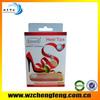 New design brand PVC underwear packaging box