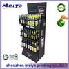 Eco-friendly and environmental sidekick cardboard vinegar/beverage display rack for supermarket promotional