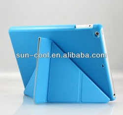 Smart cover for IPAD AIR, New arrival high quality transformer stand case cover for ipad air ipad 5