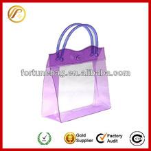 transparent plastic gift pouch