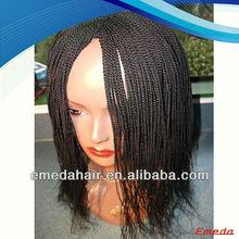 hot selling silky straight new popular fashion style micro braid wig