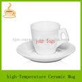 De espesor de café de porcelana taza con platillo set, decorativos tazas/mugs/tarros café