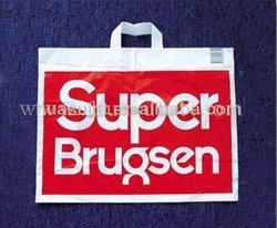 LDPE Soft Loop Handle Bag/Plastic Shopping Bag